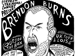 Brendon Burns artist photo
