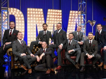 Only Men Aloud artist photo