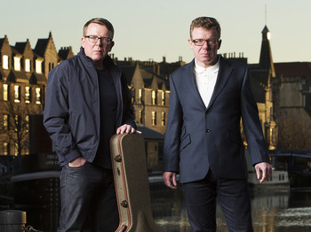 The Proclaimers + Louis Eliot picture