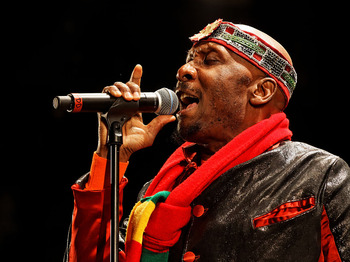 Jimmy Cliff artist photo