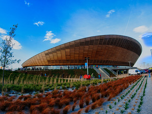 Lee Valley VeloPark artist photo