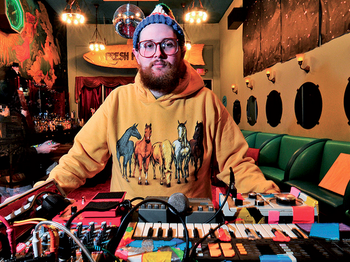 Dan Deacon + Support picture