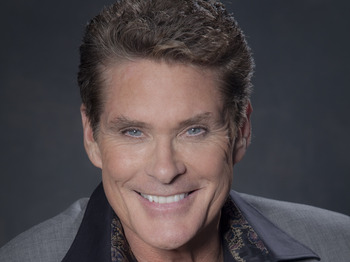 Peter Pan: David Hasselhoff picture