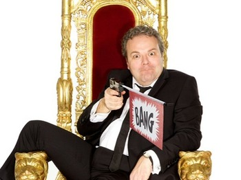 Comedy Carnival At Leicester Square: Hal Cruttenden, Steve Williams, John Moloney picture