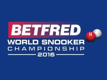 Betfred World Snooker Championships 2016