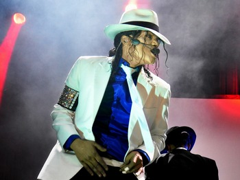 The Legend Continues...: Navi As Michael Jackson picture