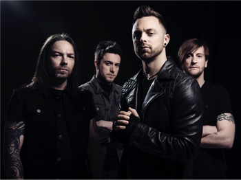 Bullet For My Valentine + Halestorm + Miss May I picture