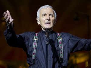 Charles Aznavour artist photo