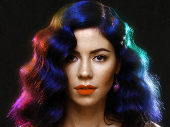 Marina & The Diamonds artist photo