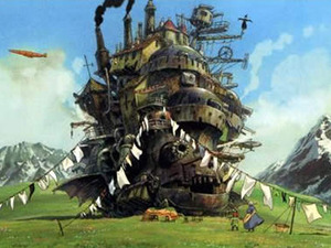 Film promo picture: Howl's Moving Castle (Hauru no ugoku shiro)