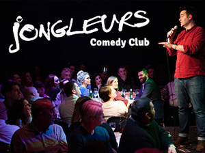 Jongleurs Leeds artist photo