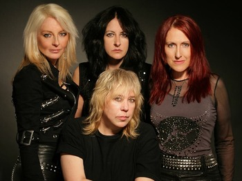 Girlschool artist photo