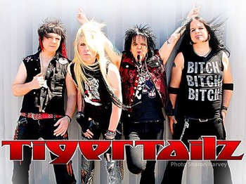 Tigertailz artist photo