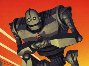 Film promo picture: The Iron Giant