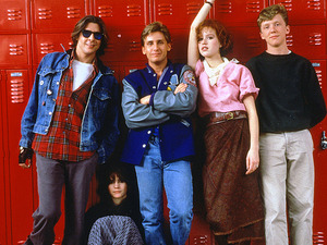 Film promo picture: The Breakfast Club