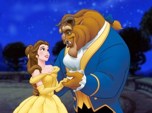 Film promo picture: Beauty and the Beast
