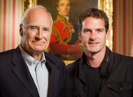 Peter and Dan Snow artist photo