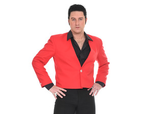 Paul Molloy as Elvis Presley in the Roy Orbison Story 2016 artist photo