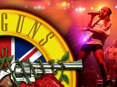 UK Guns N' Roses artist photo