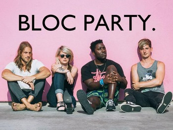 Bloc Party artist photo