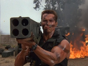Film promo picture: Commando