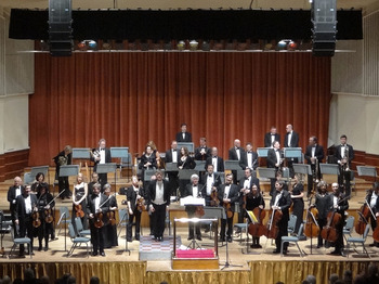 Worthing Symphony Orchestra, Nicola Benedetti picture