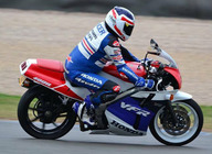Donington Classic Motorcycle Festival artist photo
