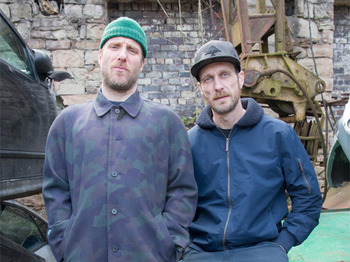 Sleaford Mods + Steve Ignorant picture