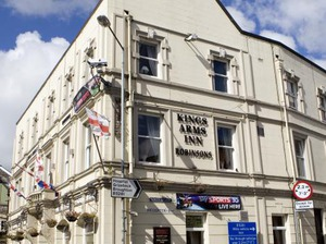 Kings Arms Hotel artist photo