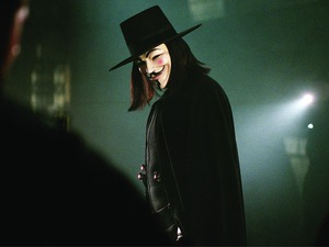 Film promo picture: V For Vendetta