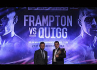 World Championship Boxing - Carl Frampton Vs Scott Quigg: Carl Frampton, Sco