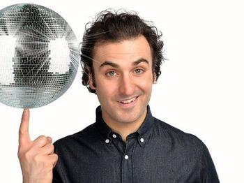 99 Club Leicester Square: Patrick Monahan, Mark Maier, Spencer Brown, Brett Goldstein picture