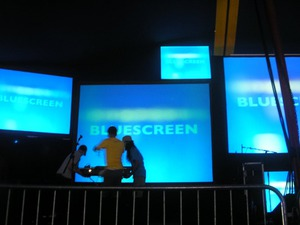 Film promo picture: Bluescreen