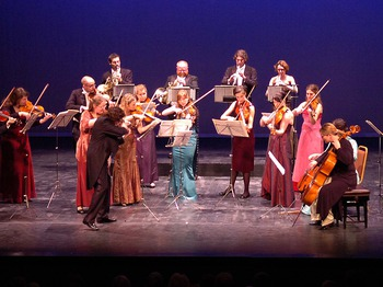 European Union Chamber Orchestra, Tasmin Little, Catrin Finch picture