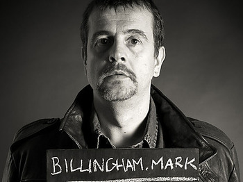 Mark Billingham artist photo
