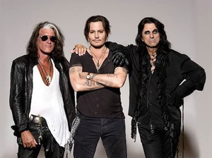 Hollywood Vampires artist photo