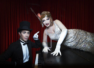The Vaudevillians: Jinkx Monsoon, Major Scales artist photo