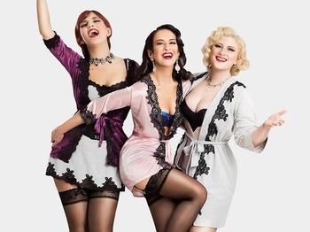 Christmas with The Puppini Sisters and Friends: The Puppini Sisters + David McAlmont + Stephen Coates (of The Real Tuesday Weld) + King Candy and The Sugar Push Horns + Billroth String Quartet picture