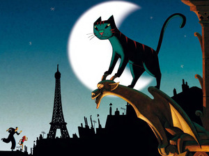 Film promo picture: A Cat In Paris