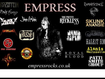 Empress Rock Band artist photo
