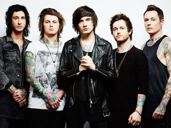 Asking Alexandria + Motionless In White + While She Sleeps picture