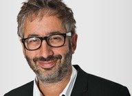 David Baddiel artist photo