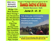 Acoustic Festival of Britain  artist photo