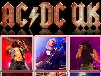 AC/DC UK artist photo