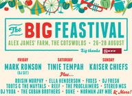 The Big Feastival 2016 artist photo