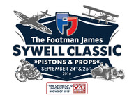 The Footman James Sywell Classic Pistons & Props Festival artist photo