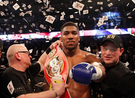 A Night Of Championship Boxing: Anthony Joshua artist photo