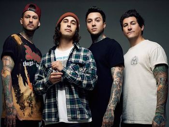 Pierce The Veil + Woe Is Me + Hands Like Houses picture