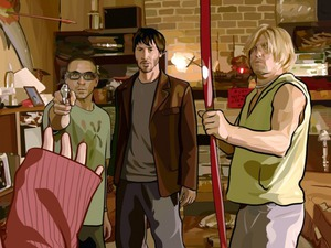 Film promo picture: A Scanner Darkly