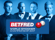 Betfred World Snooker Championship 2017 artist photo